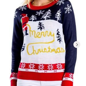 Tipsy Elves Yellow Snow Ugly Christmas Sweater